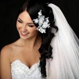 Уход за темными волосами перед свадьбой