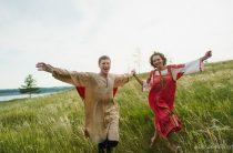 Love Story Юлии и Вячеслава в стиле русской сказки