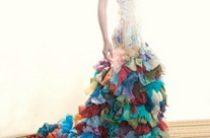 Цветные свадебные платья от Chrissy Wai-Ching