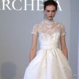 Свадебные платья в стиле Грейс Келли от Marchesa 2015