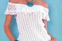 Вязаное платье на девичник