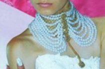 Свадебное колье из жемчуга своими руками