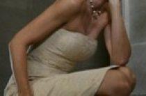Короткое свадебное платье для невесты в возрасте