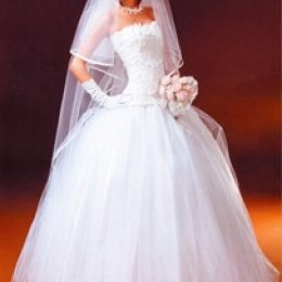 """Свадебное платье в стиле """"Принцесса"""" своими руками"""