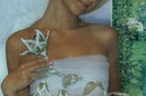 Свадебные цветы из бисера своими руками