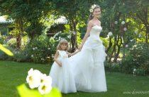 Свадебные платья с ромашками от Emé di Emé 2013