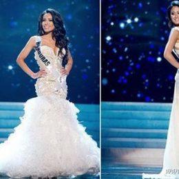Свадебные платья на конкурсе Мисс Вселенная 2012