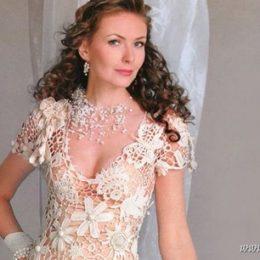 Винтажное свадебное платье своими руками