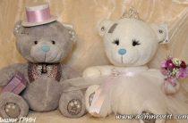 Наряды для свадебных мишек своими руками