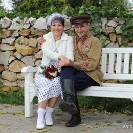 Советская довоенная свадьба Татьяны и Олега Калашниковых