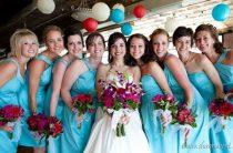 Сочетание цветов в оформлении свадьбы