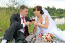 Красно-вишневая свадьба Марии и Константина