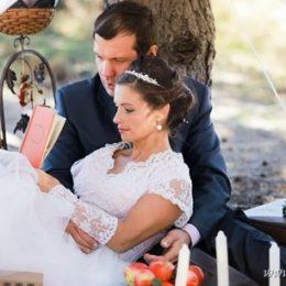 Романтическая свадебная фотосессия Елены и Вадима