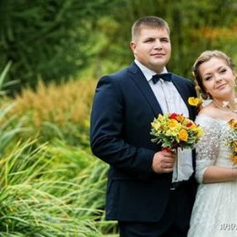 Осенняя свадьба в русском стиле Алены и Николая