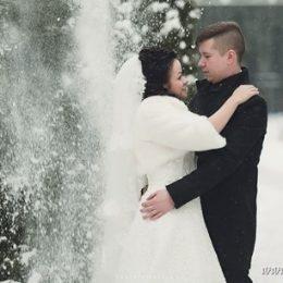 Зимняя свадьба Дарьи и Дамира