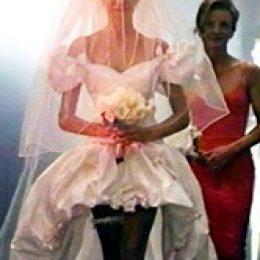 """Свадебное платье из клипа """"Guns N' Roses"""" """" November Rain"""""""