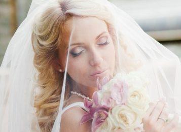 Свадебные прически на средние волосы. 15 лучших идей