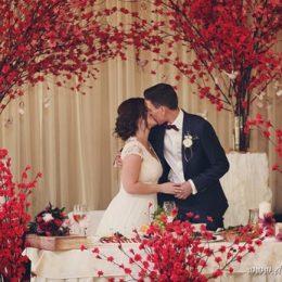 Ягодная свадьба Кристины и Андрея