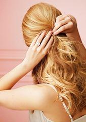 свадебная прическа распущенные волосы