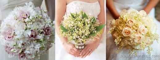 свадебный букет для девы
