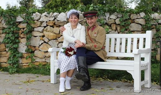 советская довоенная свадьба Калашниковых