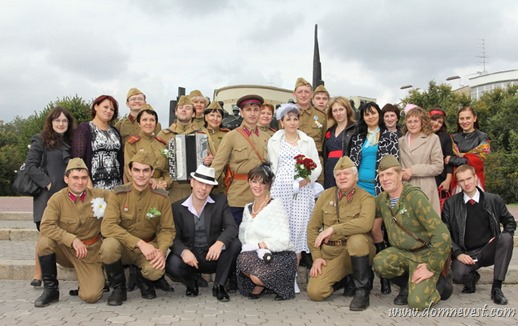 советская свадьба Калашниковых