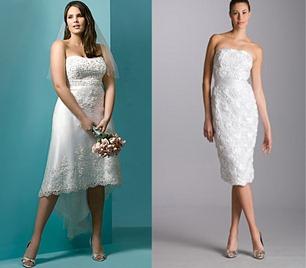 свадебные платья для невест в возрасте