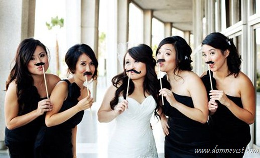 усы на свадьбе