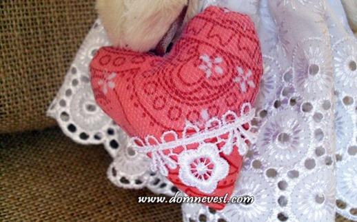 игрушечная свадебная сумочка