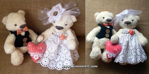 свадебные медвежата