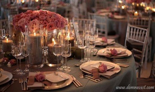 идея для украшения зала цветами
