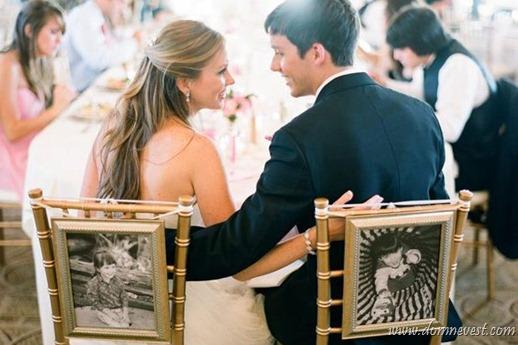 украшение свадьбы фотографиями