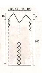 рисунок перчатка