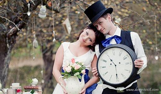 тематическая свадьба Алиса в стране чудес