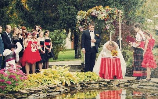 выездная регистрация брака в русском стиле