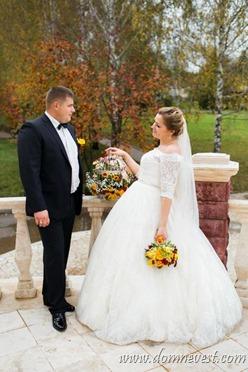 русская осенняя свадьба