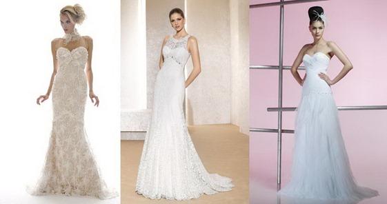 свадебные платья для Весов