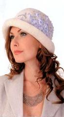 вышивка для свадебной шляпки