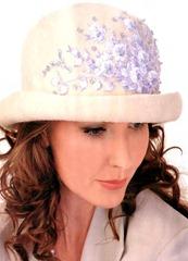 вышивка для свадебной шляпы