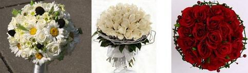 свадебный букет для козерогов
