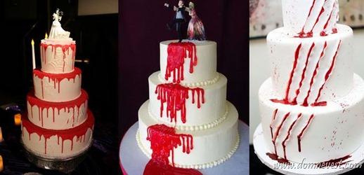 кровавые свадебные торты