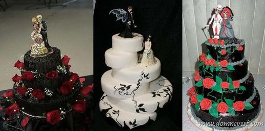 фигурки для готических тортов