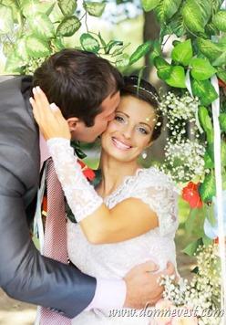 романтическая свадебная фотосессия