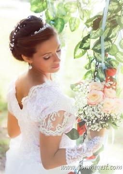 романтический образ невесты
