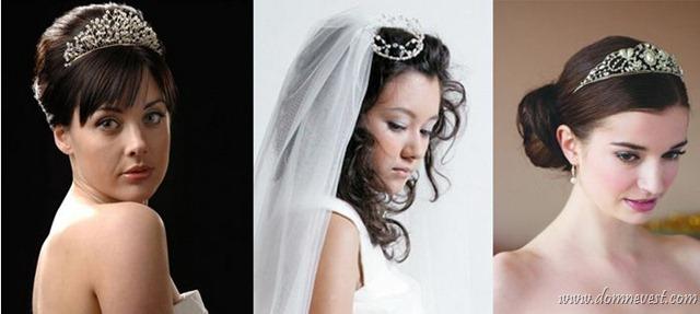 как носить диадему, тиару или корону