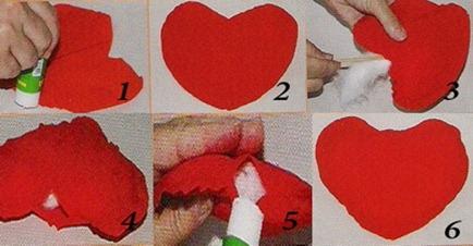 сердечко своими руками