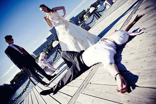 Идеи для свадебной фотосессии в гангстерском стиле могут быть абсолютно...