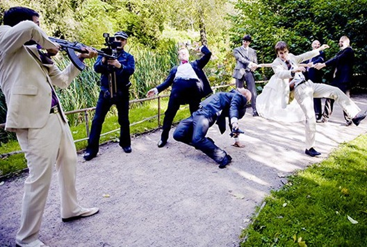 похищение невесты перестрелка