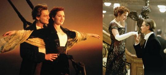 Джек и Роуз Титаник
