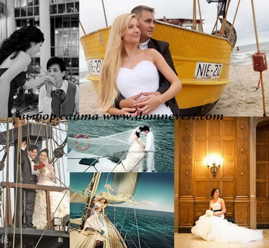 свадьба в стиле титаник